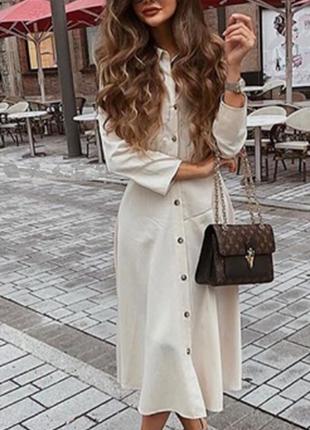 Очень красивое платье миди от zara, размер м