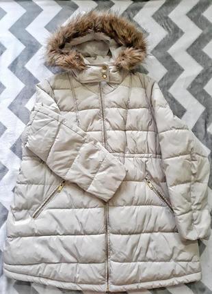 Зимняя куртка для беременных от h&m