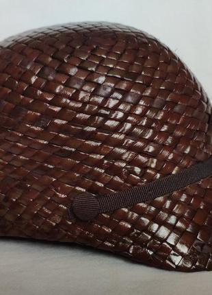 Соломенная кепи zara accessories 54-56 кепка