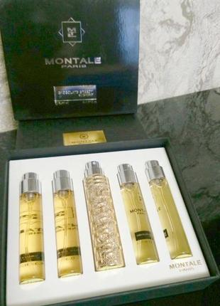 Montale chocolate greedy_оригинальный набор travel_5 х 11 мл