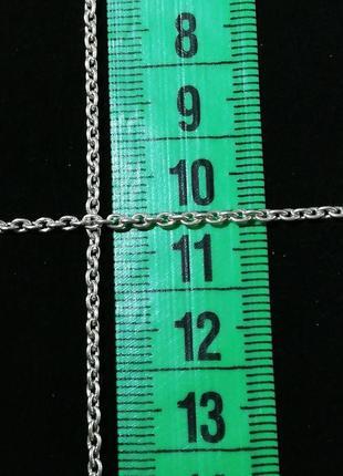"""Серебряная цепочка 44 см # якорная цепочка серебро 925""""лот 175"""