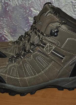 Треккинговые ботинки crane с мембраной ten-tex