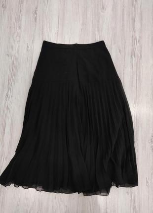 👑♥️final sale 2019 ♥️👑  шифоновая юбка черная миди