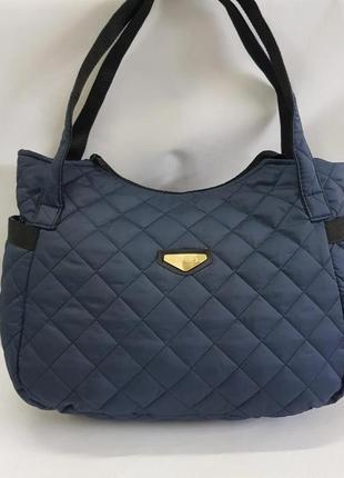 Стильная женская сумка из болоньи. распродажа! цвета!