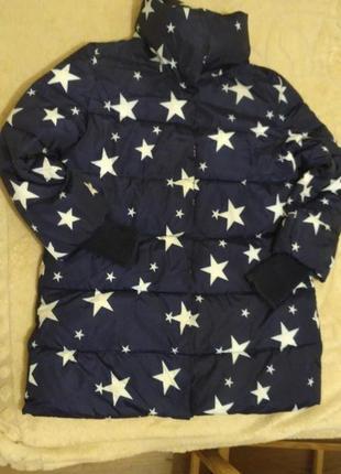 Удлиненная куртка для беременных