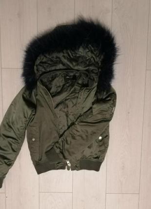 Бомбер, курточка весення, бомберка с капюшоном