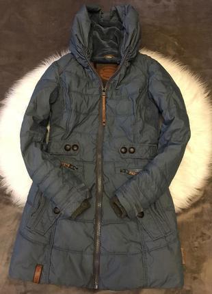 Очень теплая женская куртка парка  naketano