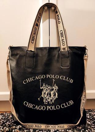Сумка шоппер polo club