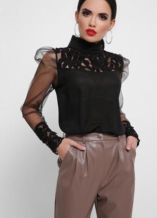 Чорна блуза,блузка