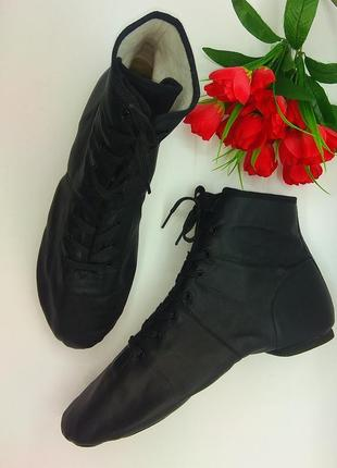 Кожаные туфли ботинки кроссовки джазовки для танцев alegra р 41-22
