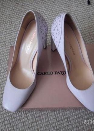 Туфли carlo pazolini 37 р. с перфорацией