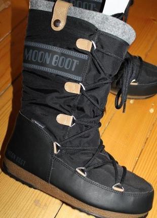 38 разм. зимние сапоги tecnica moon boot waterproof. оригинал