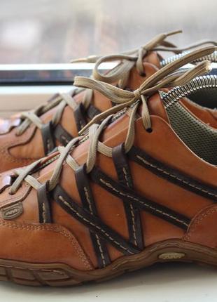 Кожаные кроссовки туфли ам оригинал