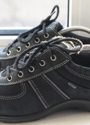 Эксклюзивные туфли ecco gore-tex натуральная кожа и оригинал