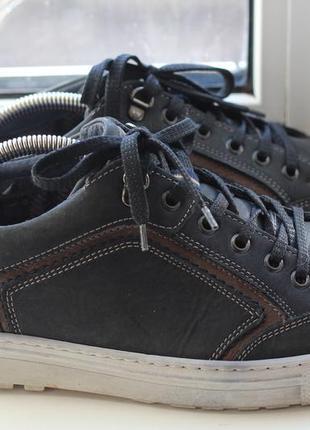 Шикарные туфли кроссовки, мокасины  tom ramsey 43-44