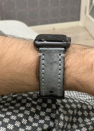 Кожаный ремешок для apple watch, 44