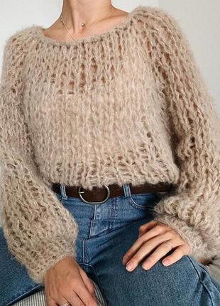 Мягкий свитер оверсайз☁️
