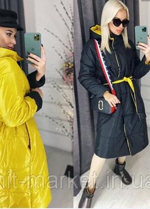 Женская зимняя куртка двухстороняя