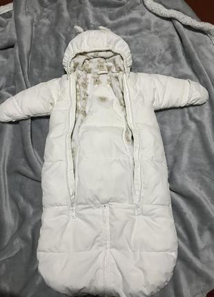 Комбинезон детский зимний 62-68 см