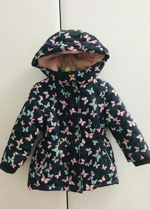 Дівчача зимова курточка