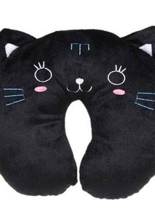 Шейная подушка кот