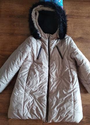 Пальто куртка wojcik р116-122 зимняя на 6-7л войчик