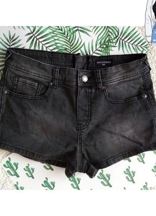Короткие джинсовые шорты с молнией сзади 🔥