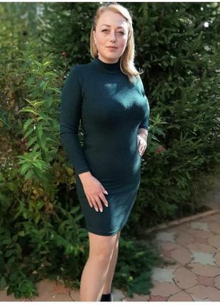 Супер-цена! платье-гольф из ангоры, разные цвета и размеры! батал!