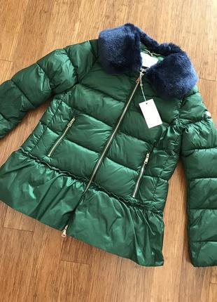 Куртка дорогого бренда rich&royal