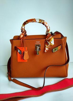 Женская сумочка шоппер с двумя ремнями