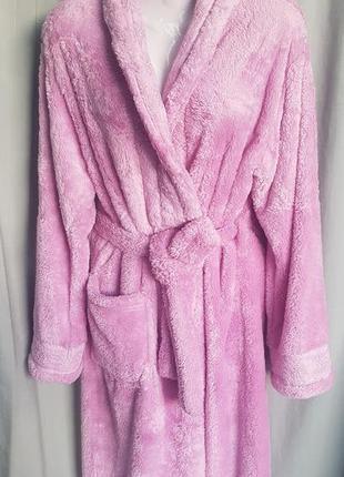 Теплый халат на запах.