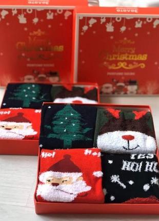 Подарочный новогодний набор носочков