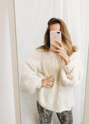 Уютный свитер из мягенькой шерсти альпаки☁️