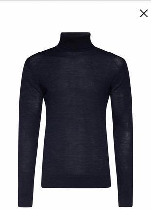 Гольф шерсть мериноса пуловер стильный дорогой бренд we размер м