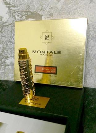 Montale  intense cafe_миниатюра пробник original refillis' 11 мл колба из набора
