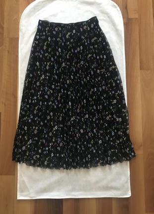 Плиссированная юбка marella размер m