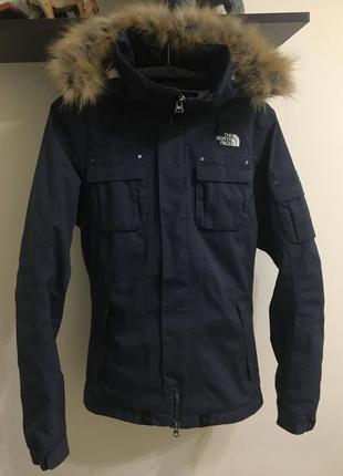 Лыжная курточка the north face зимняя м унисекс оригинал