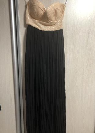 Платье паетки легкое