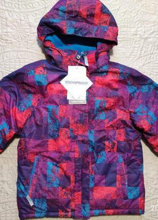Зимняя лыжная куртка mountain warehouse, 9-10лет