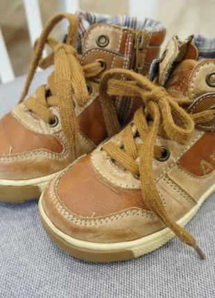 Деми ботинки на мальчика