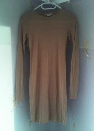 Платье миди в обтяжку
