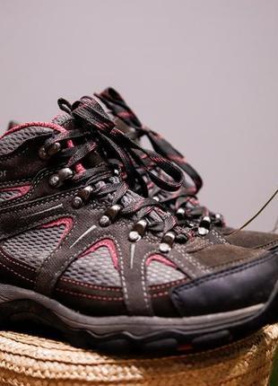 Кожаные зимние водоотталкивающие ботинки karrimor