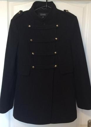 Теплое зимнее шерстяное пальто vivalon
