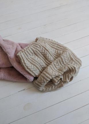 Вязанный шарф-хомут