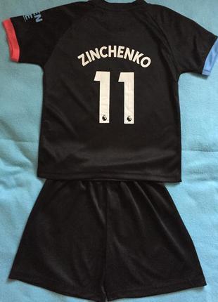Детская футбольная форма mancity zinchenko 11