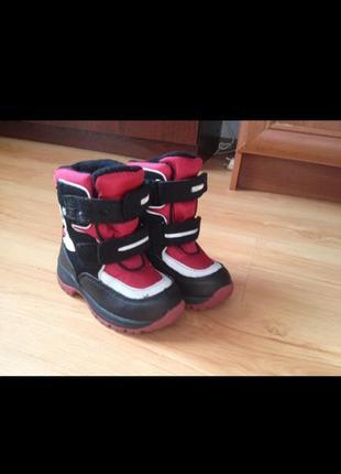 Детские ботинки тэрмо