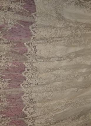 Длинная ажурная, сексуальная, фатиновая юбка в пол zara