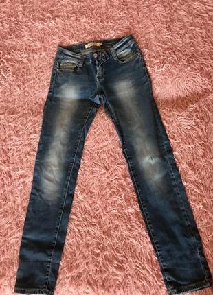 Удобные джинсы с подворотами