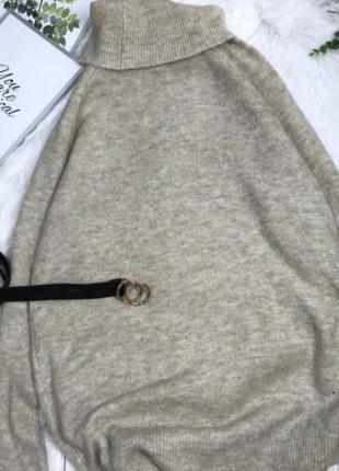 Оверсайз, стильное платье  свитарок