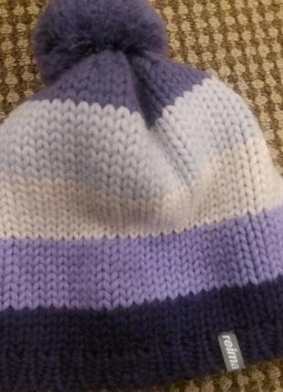 Суперська шапочка шерсть оригінал дуже тепла reima